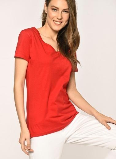 Loves You Tişört Kırmızı